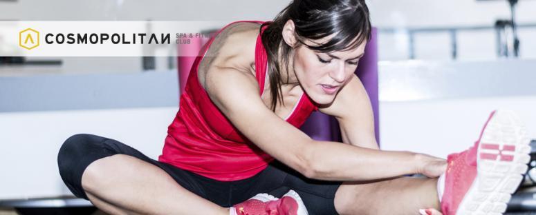 Estirar de forma correcta - Cosmopolitan Alicante Fitness Club