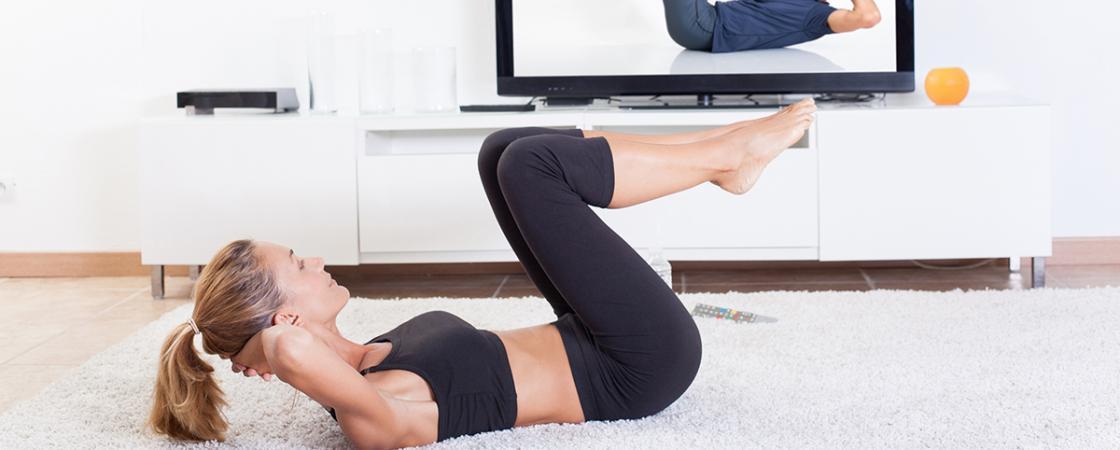 Sigue tu entrenamiento en casa