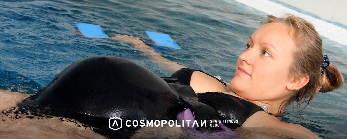 natación para embarazadas