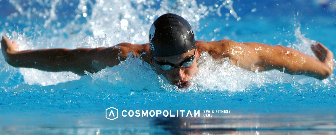 Nadar en piscina vs. Nadar en el mar